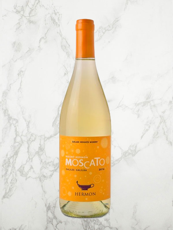 Golan Heights Winery Mount Hermon Moscato 2018